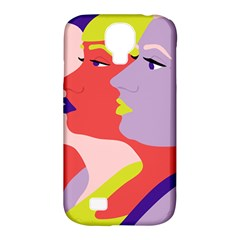 Three Beautiful Face Copy Samsung Galaxy S4 Classic Hardshell Case (pc+silicone) by Jojostore