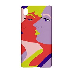 Three Beautiful Face Copy Sony Xperia Z3+ by Jojostore