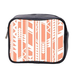 Tribal Pattern Mini Toiletries Bag 2 Side