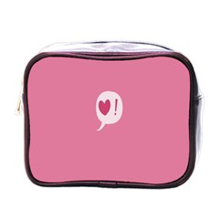 Valentines Pink Day Copy Mini Toiletries Bags