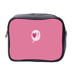 Valentines Pink Day Copy Mini Toiletries Bag 2 Side