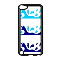 Water Apple Ipod Touch 5 Case (black)