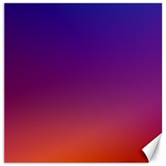 Purple Orange Blue Canvas 16  X 16   by Jojostore