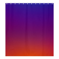 Purple Orange Blue Shower Curtain 66  X 72  (large)  by Jojostore