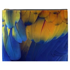Parrots Feathers Cosmetic Bag (xxxl)  by Jojostore