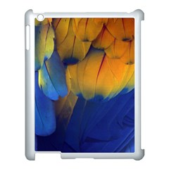 Parrots Feathers Apple Ipad 3/4 Case (white) by Jojostore