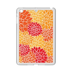 Vintage Floral Flower Red Orange Yellow Ipad Mini 2 Enamel Coated Cases by Jojostore