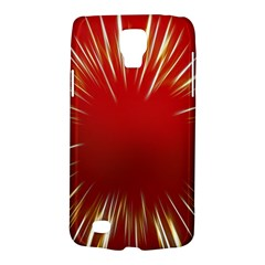 Color Gold Yellow Background Galaxy S4 Active by Amaryn4rt