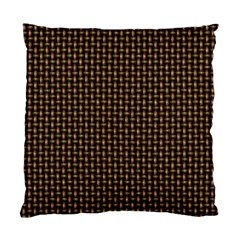 Fabric Pattern Texture Background Standard Cushion Case (two Sides)