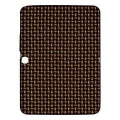 Fabric Pattern Texture Background Samsung Galaxy Tab 3 (10 1 ) P5200 Hardshell Case