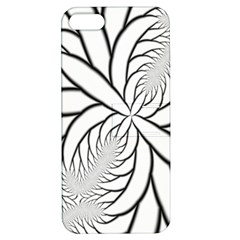Fractal Symmetry Pattern Network Apple Iphone 5 Hardshell Case With Stand by Amaryn4rt
