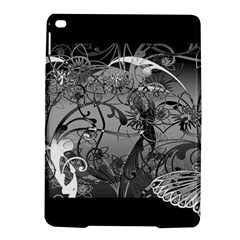 Kringel Circle Flowers Butterfly Ipad Air 2 Hardshell Cases by Amaryn4rt