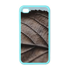 Leaf Veins Nerves Macro Closeup Apple Iphone 4 Case (color) by Amaryn4rt