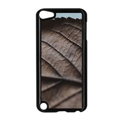 Leaf Veins Nerves Macro Closeup Apple Ipod Touch 5 Case (black) by Amaryn4rt