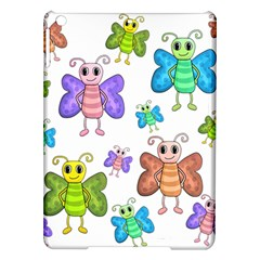 Colorful, Cartoon Style Butterflies Ipad Air Hardshell Cases by Valentinaart