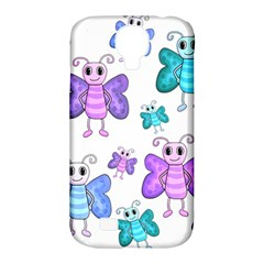 Cute Butterflies Pattern Samsung Galaxy S4 Classic Hardshell Case (pc+silicone) by Valentinaart