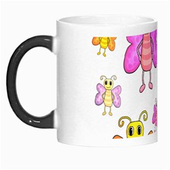 Cute Butterflies Pattern Morph Mugs by Valentinaart