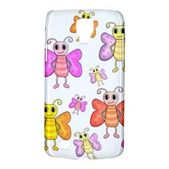 Cute Butterflies Pattern Galaxy S4 Active by Valentinaart