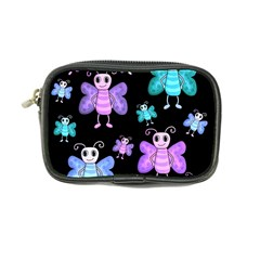 Blue And Purple Butterflies Coin Purse