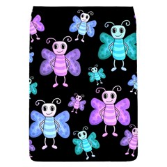 Blue And Purple Butterflies Flap Covers (l)  by Valentinaart