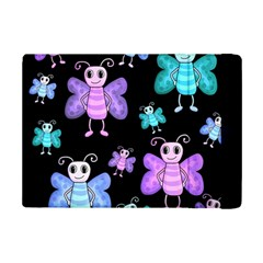 Blue And Purple Butterflies Ipad Mini 2 Flip Cases by Valentinaart