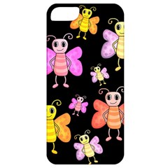 Cute Butterflies, Colorful Design Apple Iphone 5 Classic Hardshell Case