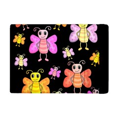 Cute Butterflies, Colorful Design Apple Ipad Mini Flip Case by Valentinaart