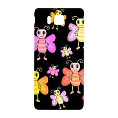 Cute Butterflies, Colorful Design Samsung Galaxy Alpha Hardshell Back Case