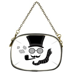 Invisible Man Chain Purses (one Side)  by Valentinaart