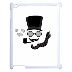 Invisible Man Apple Ipad 2 Case (white)