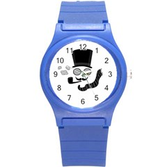Invisible Man Round Plastic Sport Watch (s)