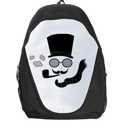 Invisible Man Backpack Bag by Valentinaart