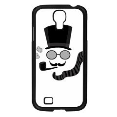Invisible Man Samsung Galaxy S4 I9500/ I9505 Case (black) by Valentinaart