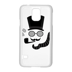 Invisible Man Samsung Galaxy S5 Case (white) by Valentinaart