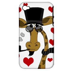 Mr  Right Apple Iphone 4/4s Hardshell Case (pc+silicone) by Valentinaart