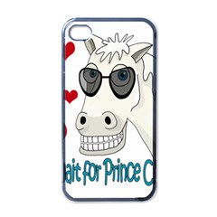 Don t Wait For Prince Sharming Apple Iphone 4 Case (black) by Valentinaart