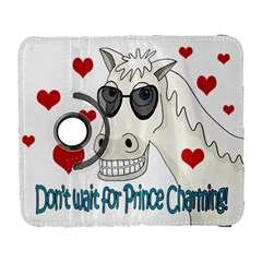 Don t Wait For Prince Sharming Galaxy S3 (flip/folio) by Valentinaart