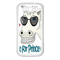 Don t Wait For Prince Sharming Samsung Galaxy S3 Back Case (white) by Valentinaart