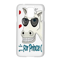 Don t Wait For Prince Sharming Samsung Galaxy S5 Case (white) by Valentinaart