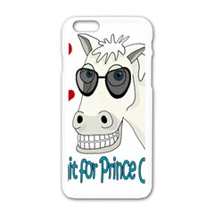 Don t Wait For Prince Sharming Apple Iphone 6/6s White Enamel Case by Valentinaart