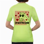 Don t wait for Prince Charming Women s Green T-Shirt Back