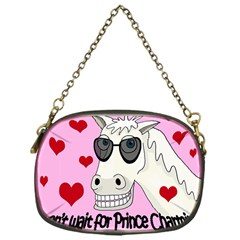 Don t Wait For Prince Charming Chain Purses (one Side)  by Valentinaart