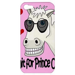 Don t Wait For Prince Charming Apple Iphone 5 Hardshell Case by Valentinaart