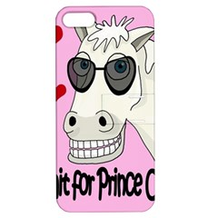 Don t Wait For Prince Charming Apple Iphone 5 Hardshell Case With Stand by Valentinaart