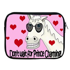 Don t Wait For Prince Charming Apple Ipad 2/3/4 Zipper Cases by Valentinaart