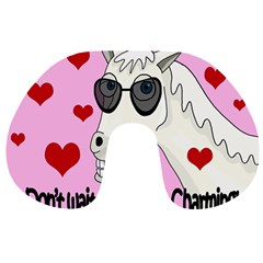 Don t Wait For Prince Charming Travel Neck Pillows by Valentinaart