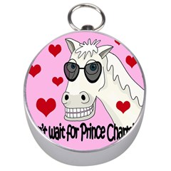 Don t Wait For Prince Charming Silver Compasses by Valentinaart