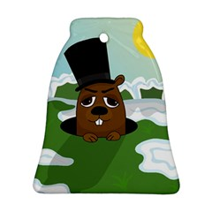 Groundhog Ornament (bell)