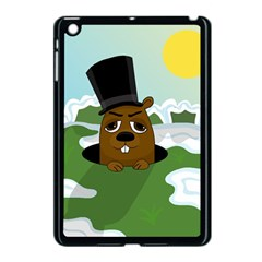 Groundhog Apple Ipad Mini Case (black) by Valentinaart