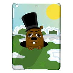 Groundhog Ipad Air Hardshell Cases by Valentinaart